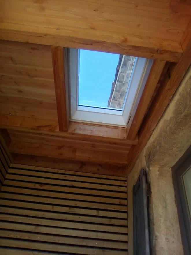extension d 39 une maison suze sur crest dans la dr me 26400 os bois. Black Bedroom Furniture Sets. Home Design Ideas