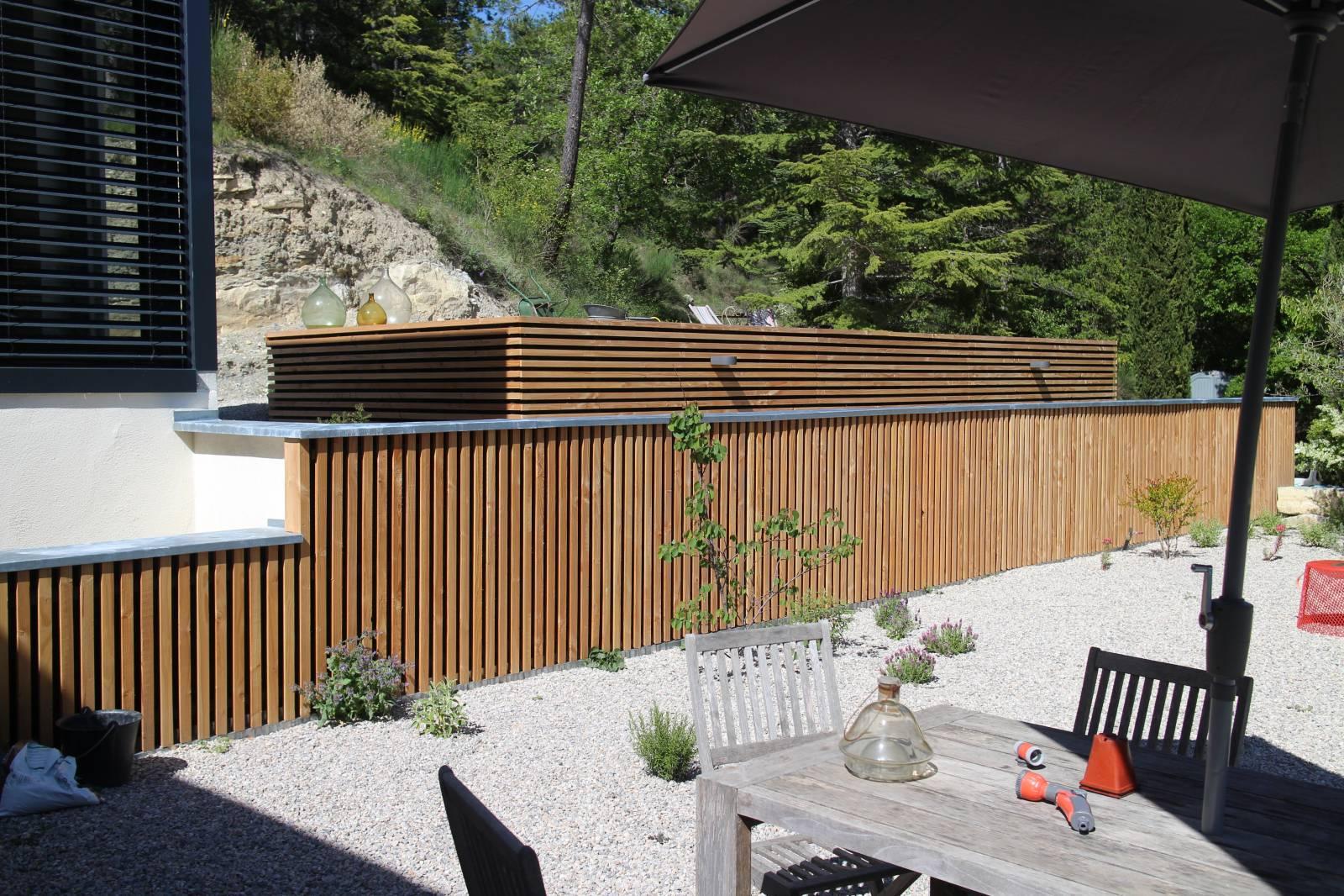 R novation et extension d 39 une maison saillans dans la for Aides a la renovation d une maison
