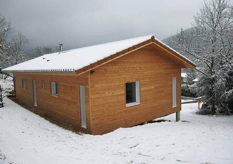 Accueil os bois - Maison sur terrain pentu ...