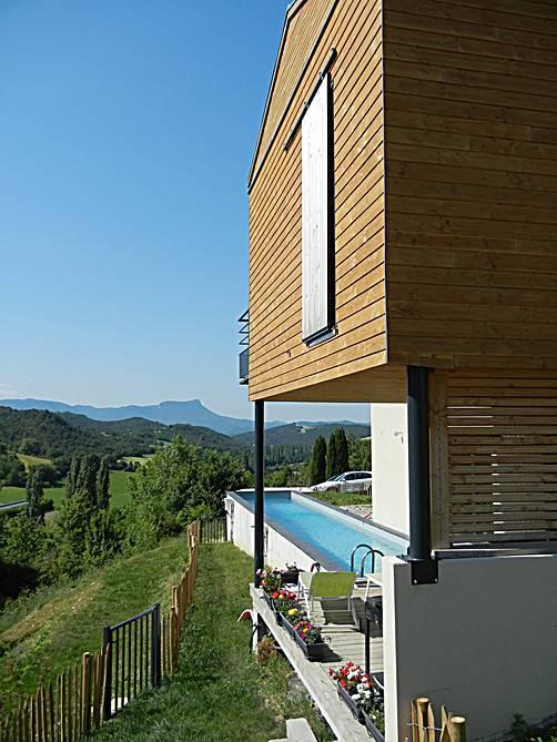 construction et extension de maison en bois sur valence os bois. Black Bedroom Furniture Sets. Home Design Ideas