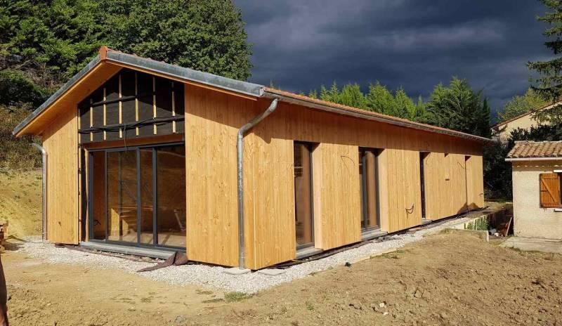 Constructeur de maison en bois contemporaine Montélimar - Osébois
